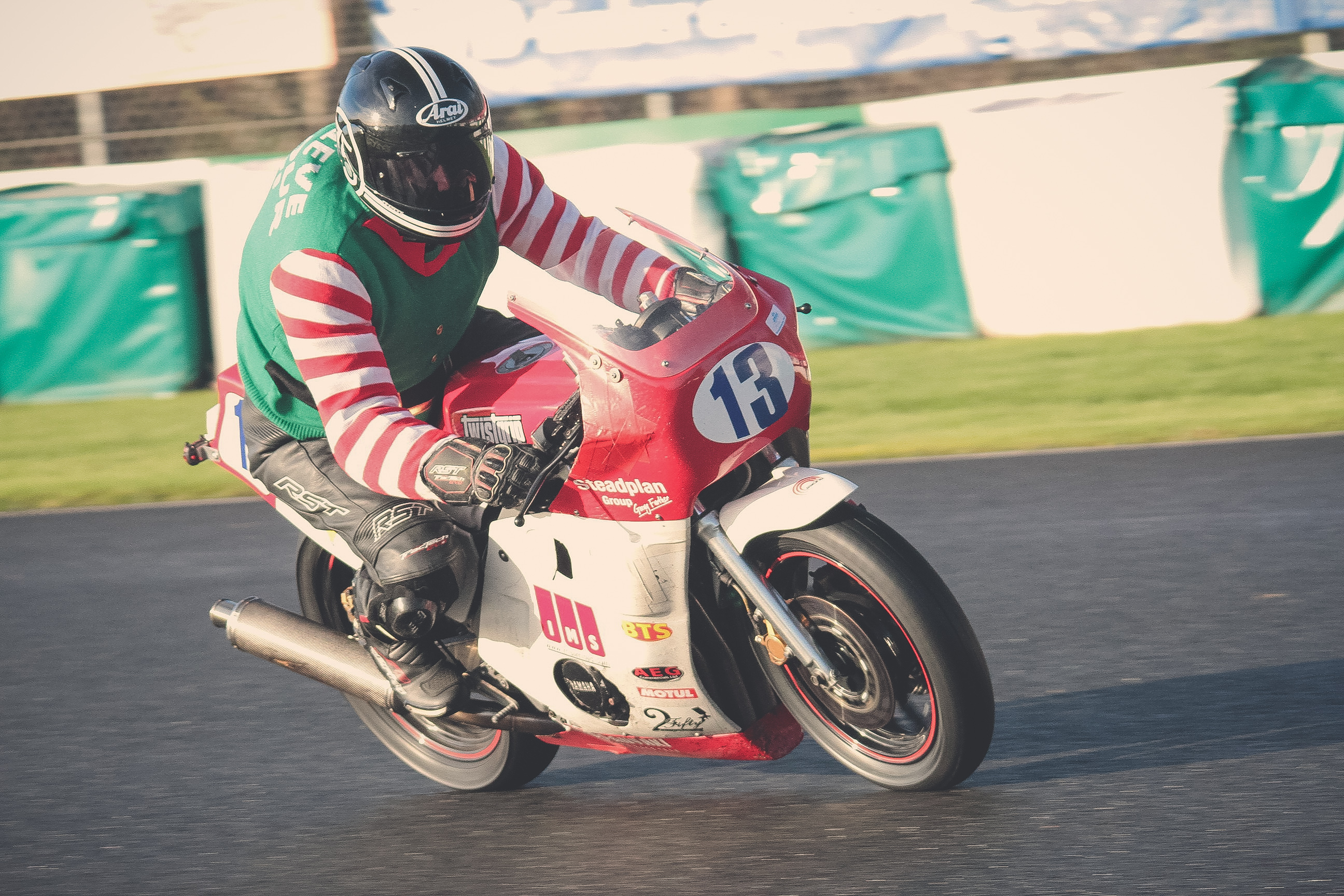Andrew Dyer at Mallory Park Plum Pudding races
