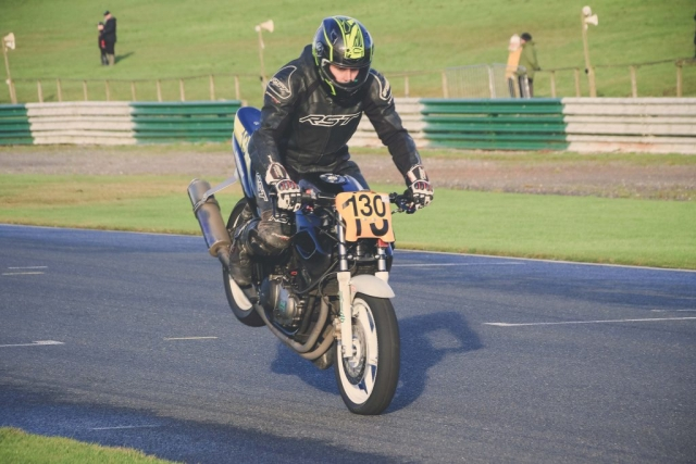 Richard Blunt at Mallory Park Plum Pudding races
