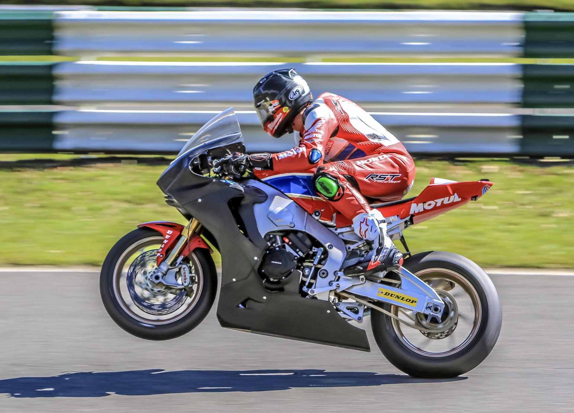 Honda Racing at Cadwell 5 April 2018 unknown rider