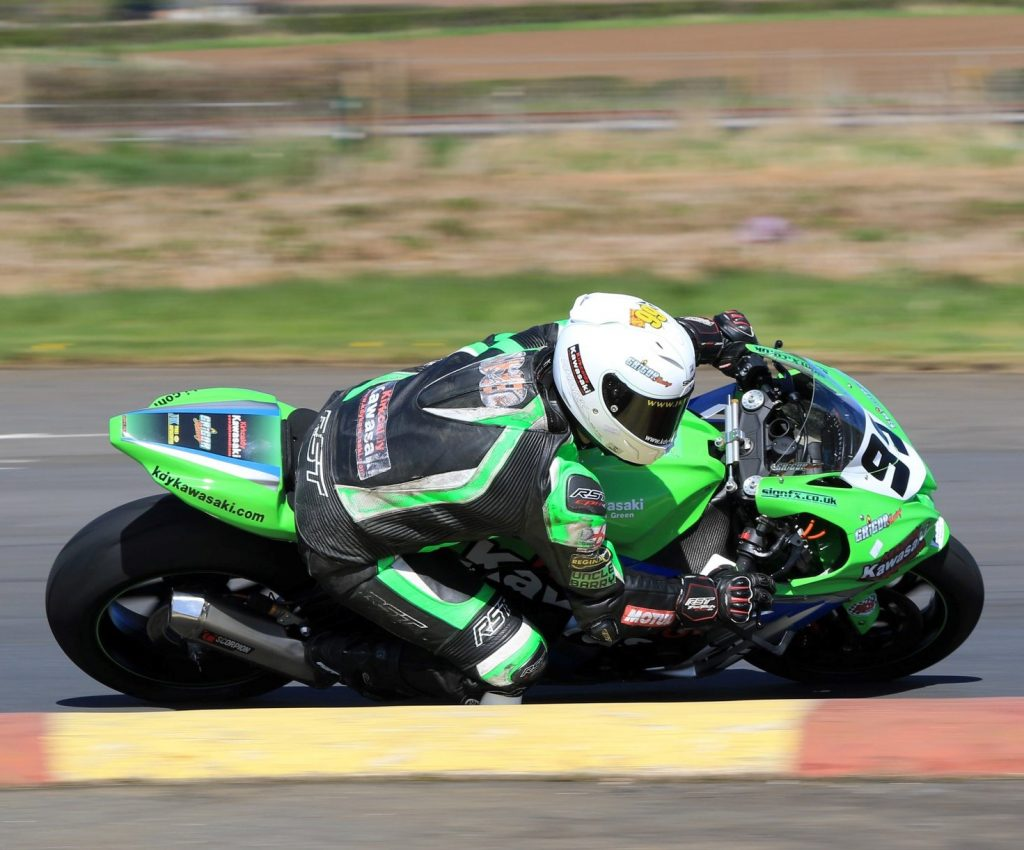 Grigor leads the Melville Superbike standings after a double-victory...