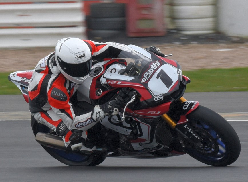 Reigning Powerbikes champ Joe Morphett made a sneaky pass for the lead and stole victory on Saturday...