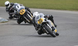 Richard Molnar was one of the big winners at Pembrey this weekend for CRMC Round One...