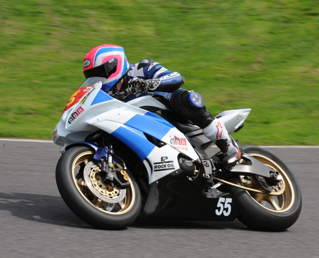 Baker narrowly beat Ridewood to the line to take the second win of the weekend...