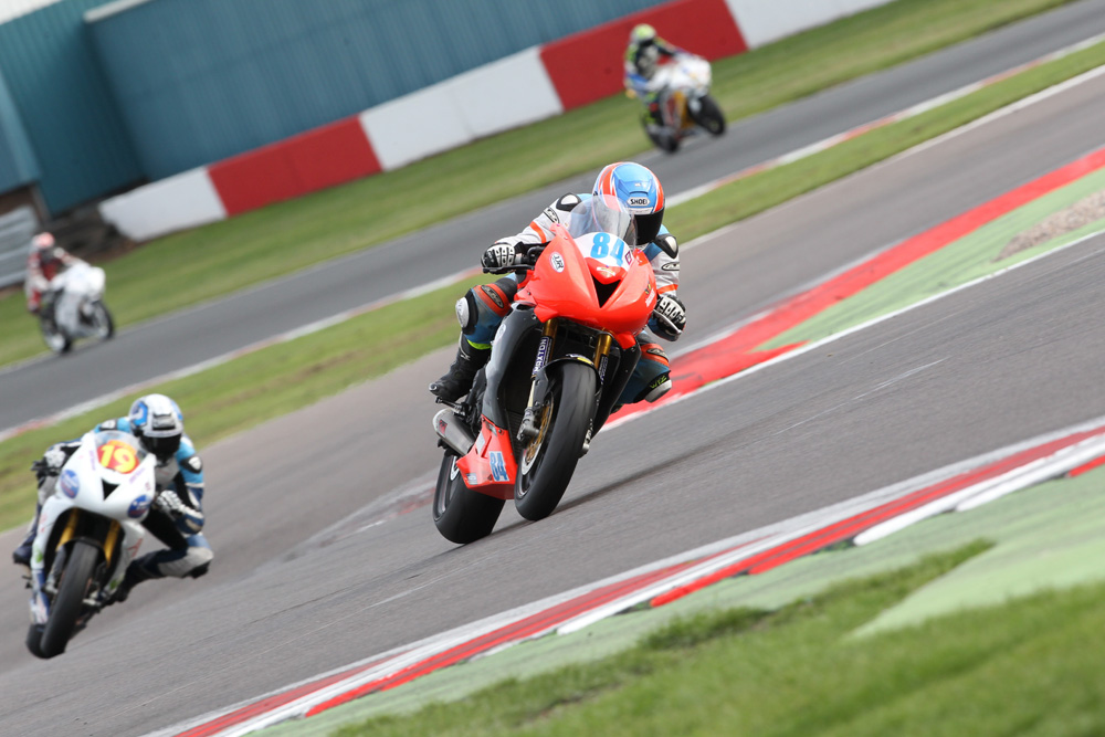 Cup 600 rider Wotton led both his class and the Super Series ranks nearly all weekend...