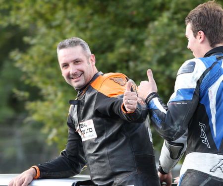 Colin Parker toppled the mighty Peter Baker to take the 2016 BG Products MRO Powerbikes title...