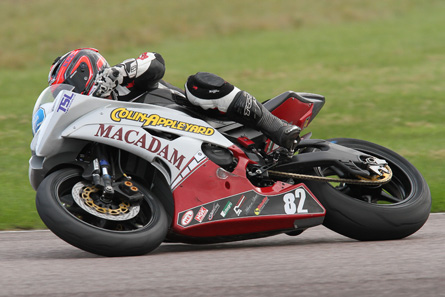 Luke Jones took the Appleyard Macadam bike for a spin at Thruxton...