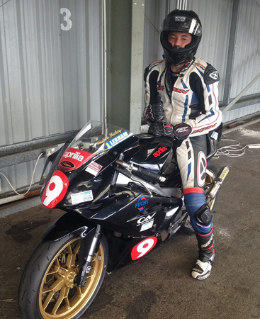 Rishon Hickey has won the Knockhill and Melville 125 championships this year...