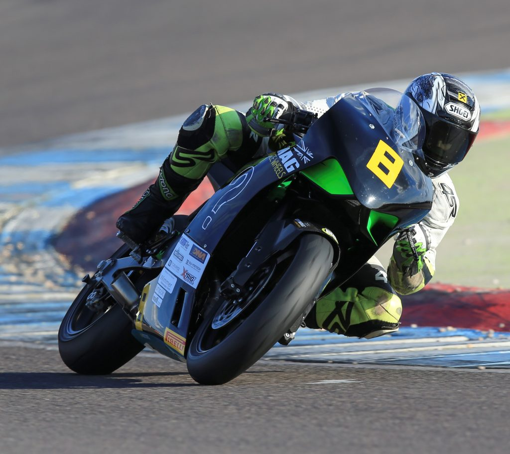 Lukas Wimmer has been making waves with the radical new race-winning and Supertwin-threatening Kramer 690 single...