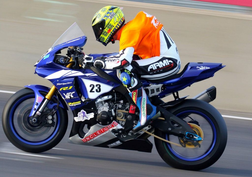 Newcomer 1000 racer Tony Hunter's double win and two second place finishes make him the points leader heading to Cadwell...