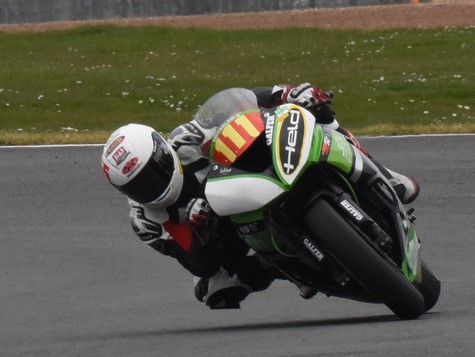 GBM Kawasaki rider Sam Smith bagged the second win on Sunday with nearly six seconds to spare...