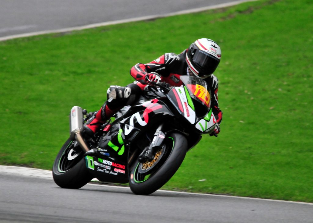 Fresh off a podium at Oulton Park in the National Superstock 600 class, Sheldon-Shaw was back in action...