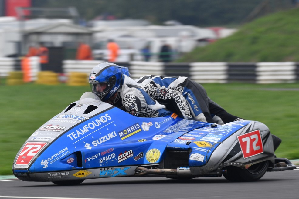 The defending champs were on the gas from the word go, taking pole, two race wins and a new lap record...