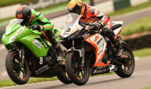 Dawson (2) is now the only rider that can stop Leigh from taking the title...