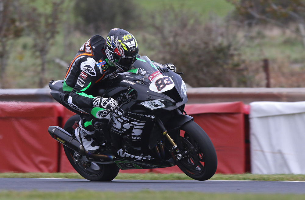 Buchan had to settle for three runner-up finishes after chasing Cooper all weekend...