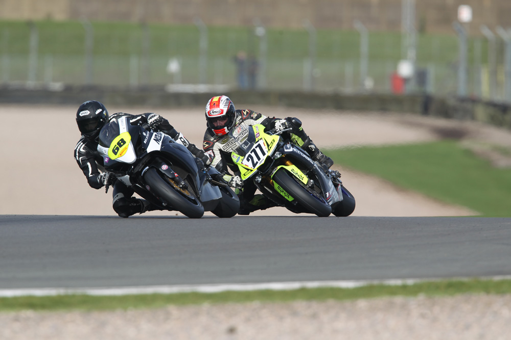 Neave (68) and Heckles (277) were just a couple of the wildcards to hit Donington with No Limits this weekend...