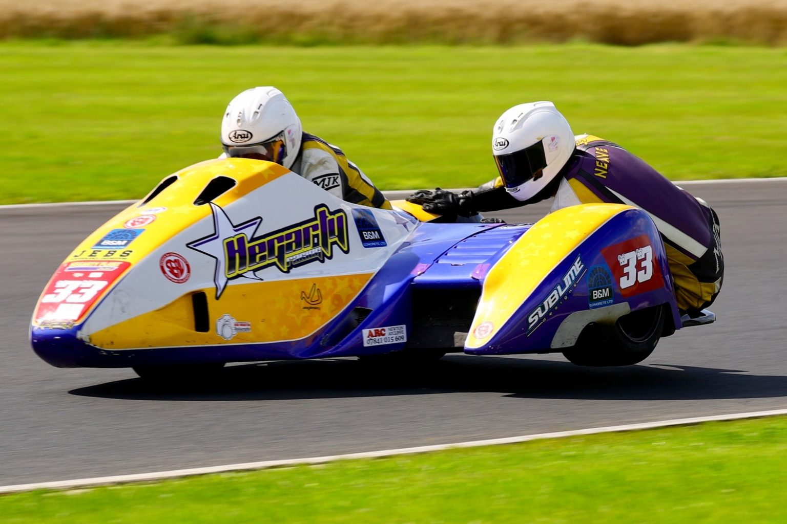 Hegarty and Neave snagged their first FSRA F2 win by just over half a second...