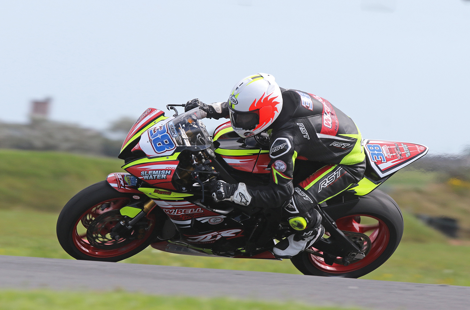 Lynn was the Supersport man to beat...