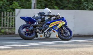 Hind dominated MGP Junior action at over 120mph....
